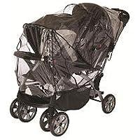 Babies R Us Tandem Stroller Rain Cover by Babies R Us