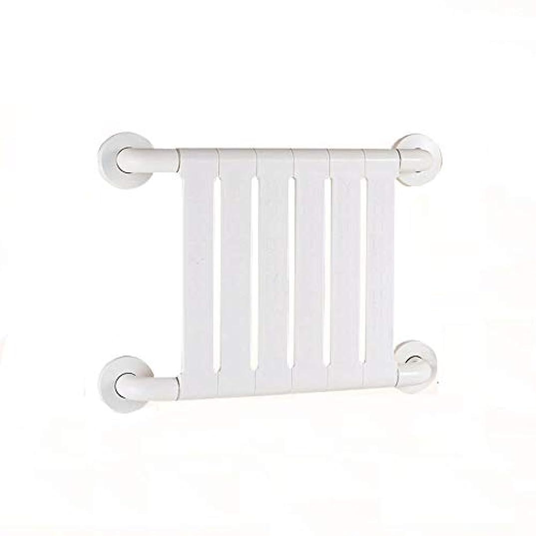 クライアント枯渇するここに滑り止め防錆抗菌手すり高齢者障害者用アームレスト妊娠中の女性バスルームトイレバスルームの安全ハンドル (Color : 白)