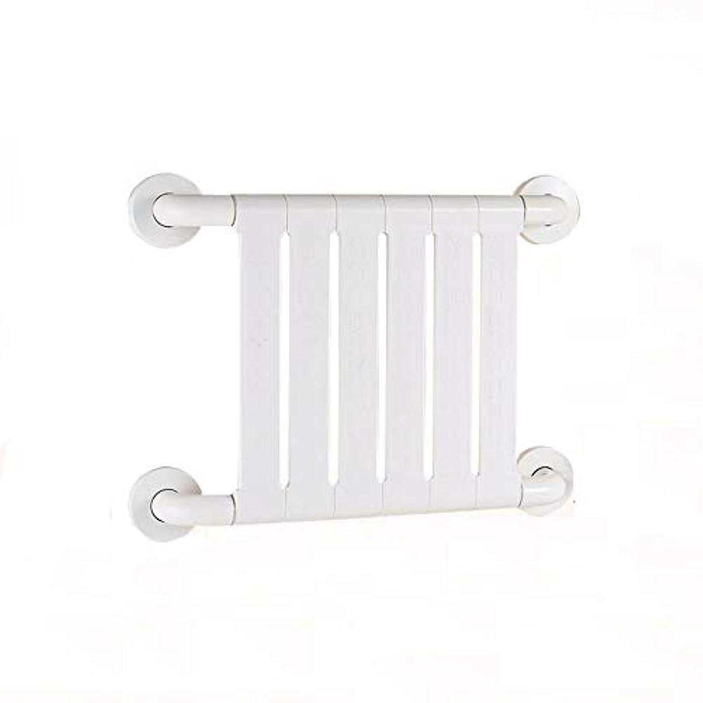 ケイ素水差しなしで滑り止め防錆抗菌手すり高齢者障害者用アームレスト妊娠中の女性バスルームトイレバスルームの安全ハンドル (Color : 白)