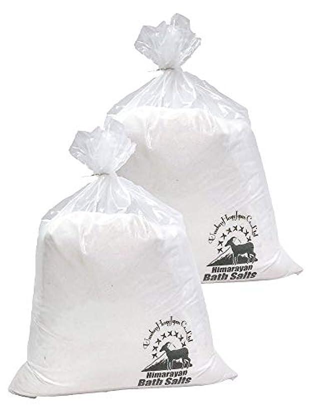 ワゴン四分円姿を消すヒマラヤ岩塩 バスソルト ホワイト あら塩 20kg