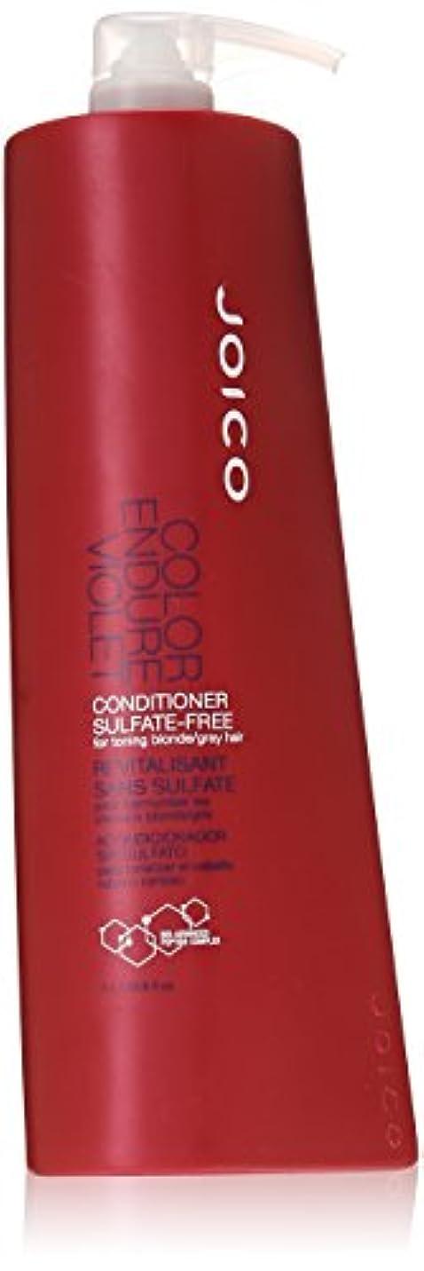 すべて不安口ひげJoico Color Endure Violet Conditioner Sulfate Free - 33.8 Oz by Joico [並行輸入品]