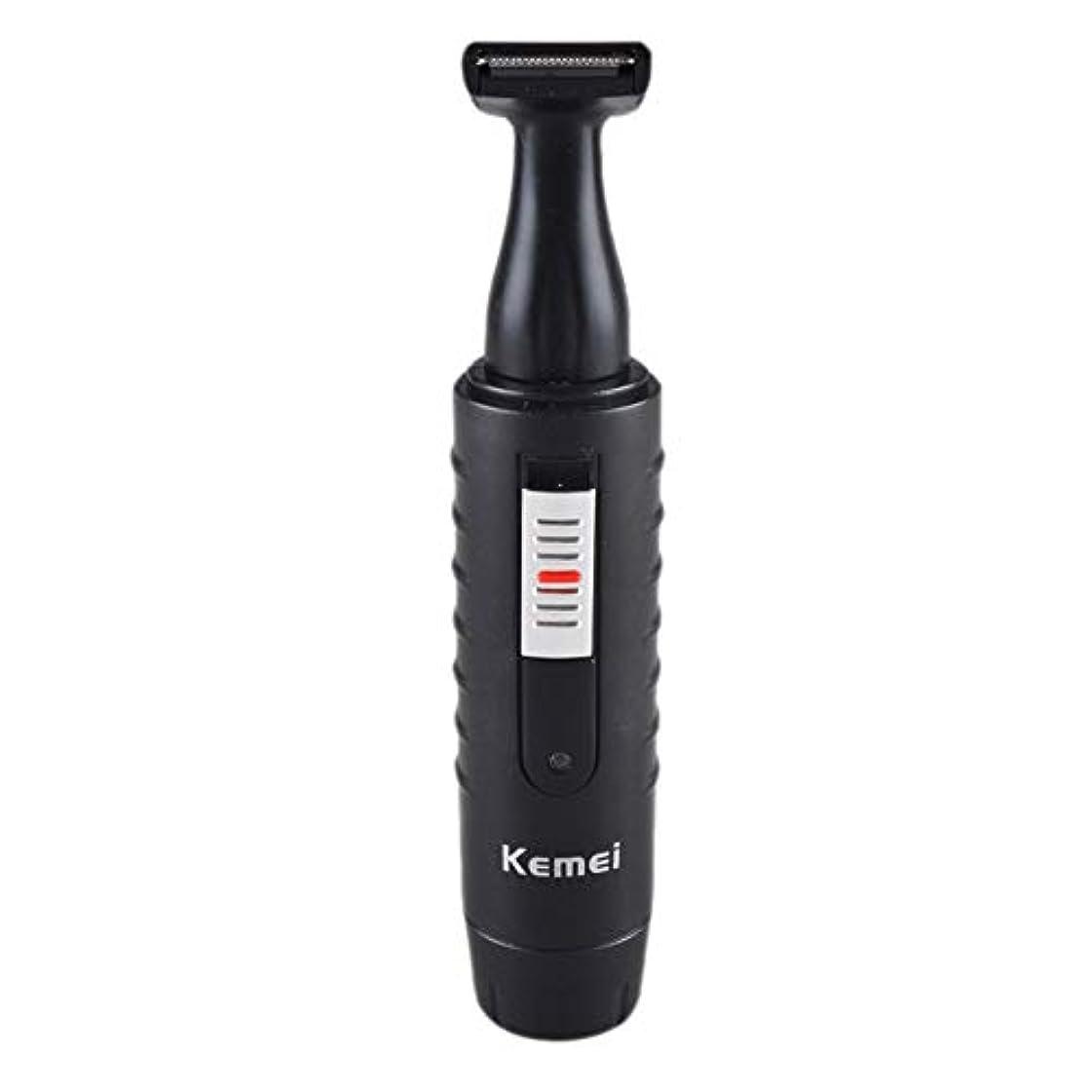 うまれたドル期限切れ男性と女性のための2-1電気鼻&耳ヘアトリマー充電式洗えるひげヘアシェーバーフェイスケアデバイス