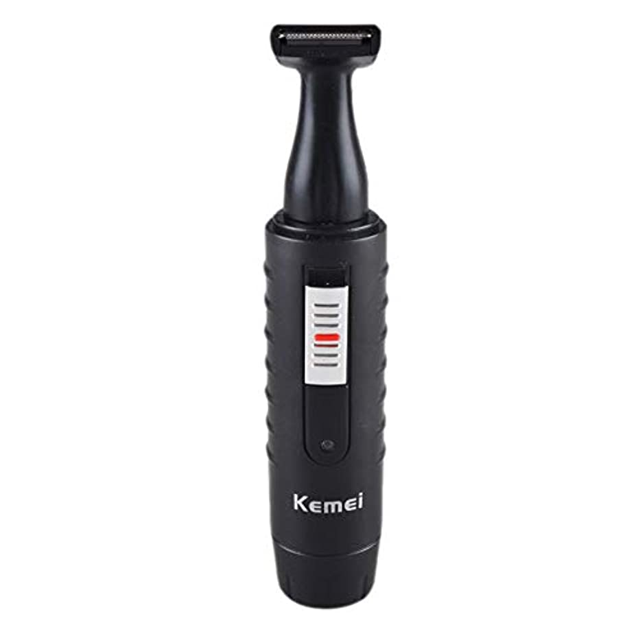 スカイ集中的な時々時々男性と女性のための2-1電気鼻&耳ヘアトリマー充電式洗えるひげヘアシェーバーフェイスケアデバイス
