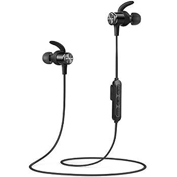 Soundcore Spirit(カナル型 Bluetoothイヤホン by Anker)【SweatGuardテクノロジー/Bluetooth 5.0対応/8時間連続再生/IPX7完全防水規格/運動中もしっかりフィット】