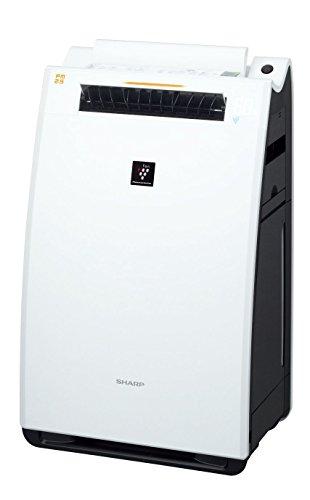 シャープ 加湿空気清浄機 プラズマクラスター25000搭載 プレミアムモデル ~21畳 ホワイト KI-FX75-W