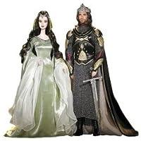 Lord the Rings バービー ケン Arwen Aragorn 131002fnp [並行輸入品]