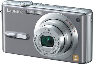 Panasonic DMC-FX9-H LUMIX モーブグレー