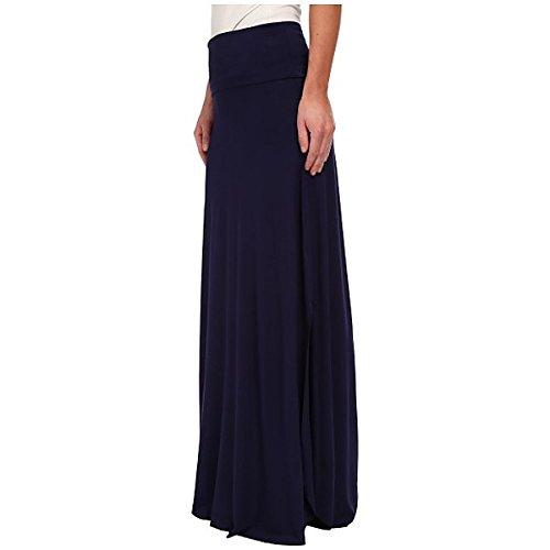 (スリードッツ) Three Dots レディース スカート ロングスカート Maxi Skirt w/ Side Slits 並行輸入品