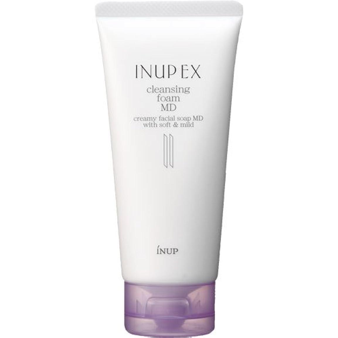 入場船尾まともなインナップEX 洗顔料 フェイスウォッシュ クレンジングフォーム MD [弱酸性] 100g