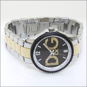 [ディーアンドジー]D&G 腕時計 SESTRIERE セストリール ブラック×ゴールド×シルバー DW0759 メンズ [並行輸入品]