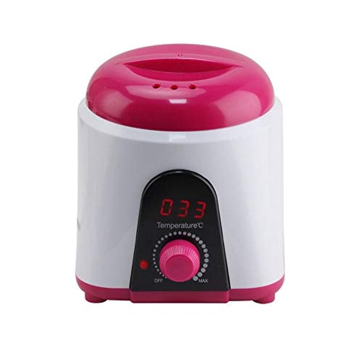 いたずらな有罪離れた調節可能な温度のワックスマシン、女性および男性500CCのための多機能の家のワックスが付いている毛の取り外しのための専門の電気ワックスのウォーマーのヒーターのメルター
