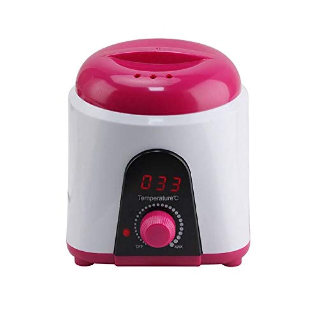 飽和するドリンク協力調節可能な温度のワックスマシン、女性および男性500CCのための多機能の家のワックスが付いている毛の取り外しのための専門の電気ワックスのウォーマーのヒーターのメルター