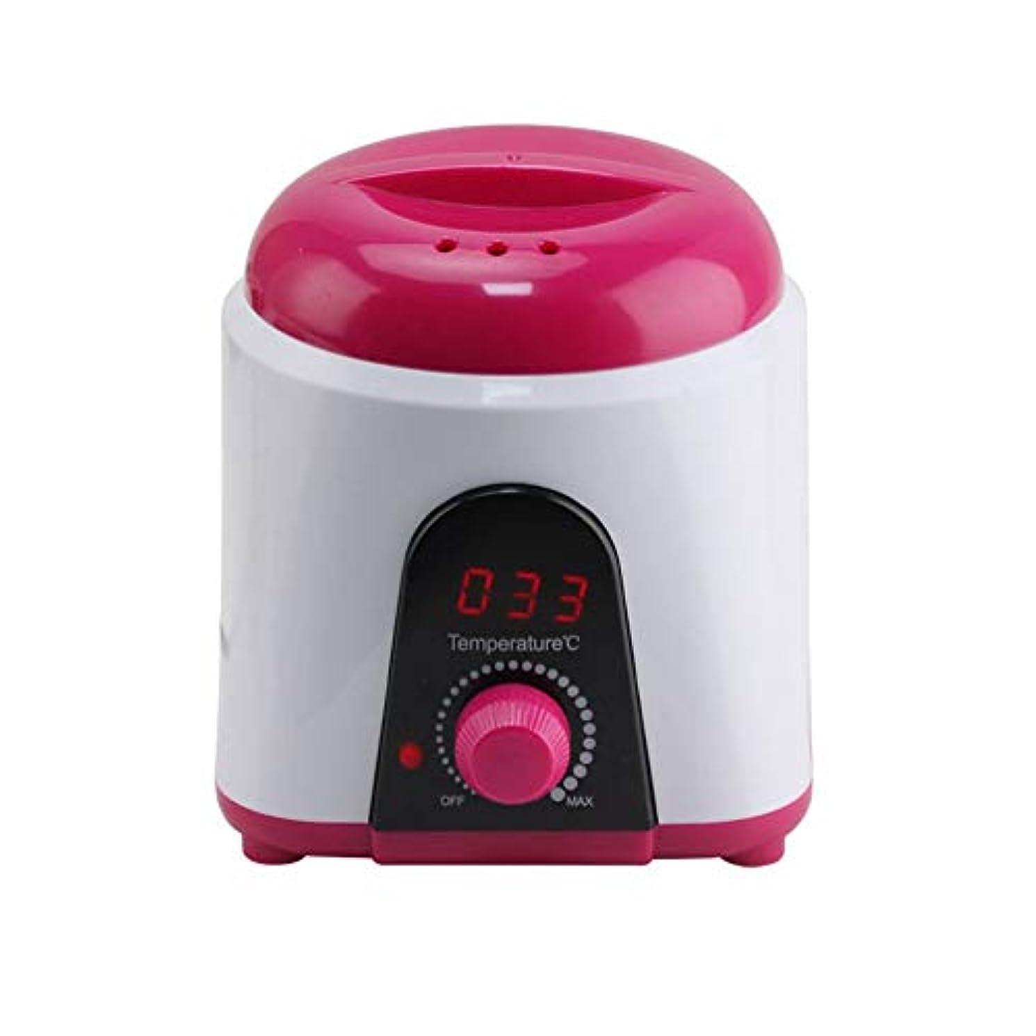 保守可能受粉する第九調節可能な温度のワックスマシン、女性および男性500CCのための多機能の家のワックスが付いている毛の取り外しのための専門の電気ワックスのウォーマーのヒーターのメルター