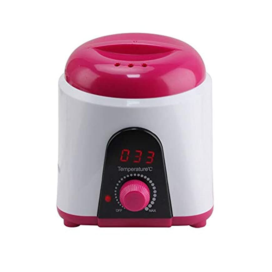 ロースト天使パイプライン調節可能な温度のワックスマシン、女性および男性500CCのための多機能の家のワックスが付いている毛の取り外しのための専門の電気ワックスのウォーマーのヒーターのメルター