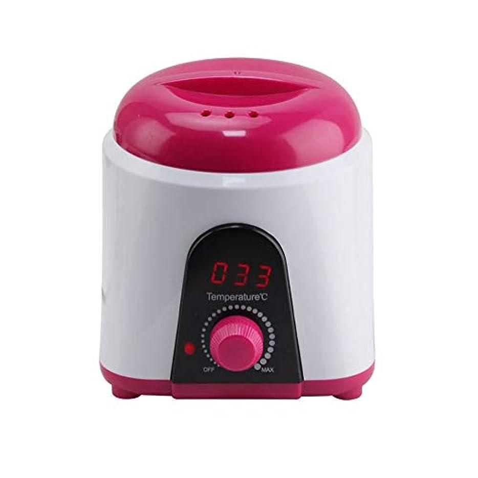 ブリードスペクトラムメンダシティ調節可能な温度のワックスマシン、女性および男性500CCのための多機能の家のワックスが付いている毛の取り外しのための専門の電気ワックスのウォーマーのヒーターのメルター