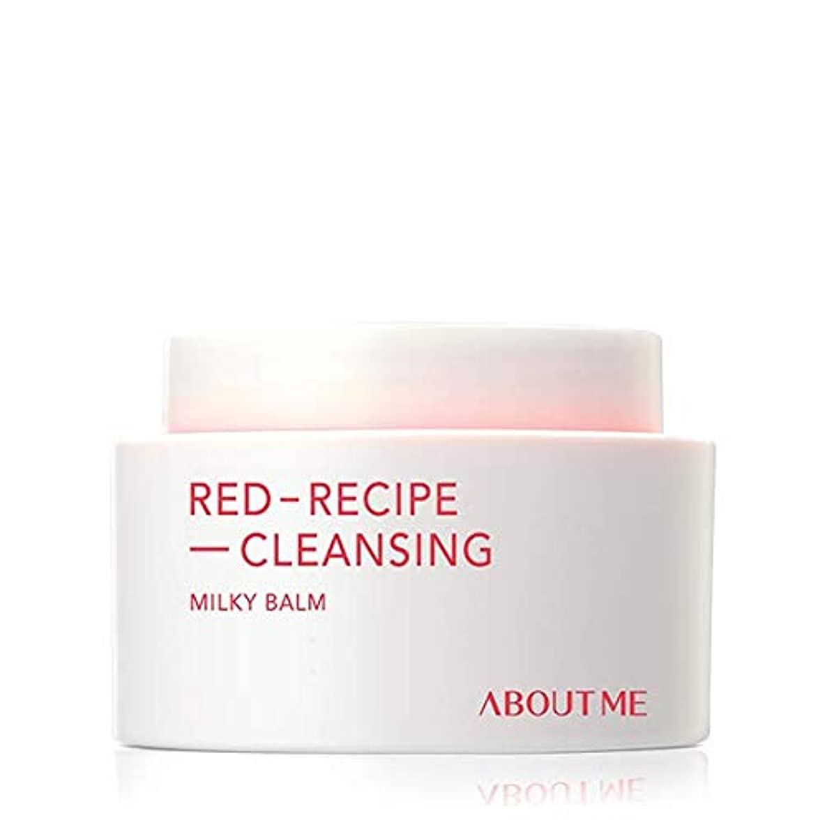 [ABOUT ME] アバウト米レッドレシピクレンジングミルキー夜 90ml / ABOUT ME RED RECIPE CLEANSING MILKY BALM 90ml [並行輸入品]