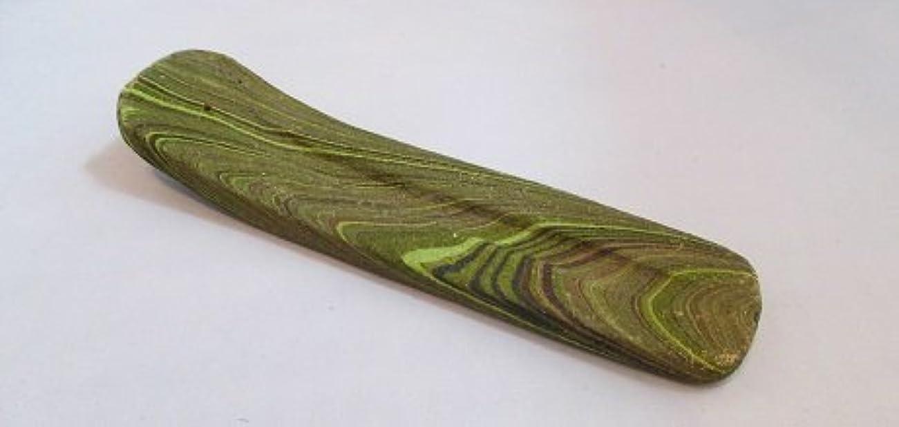 スクラップブック軽前方へカラーお香立て (緑)