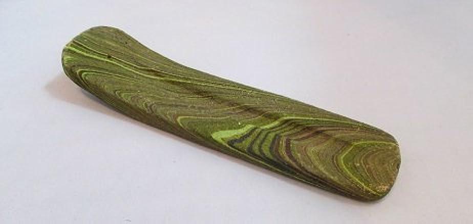 飾る耳ソースカラーお香立て (緑)
