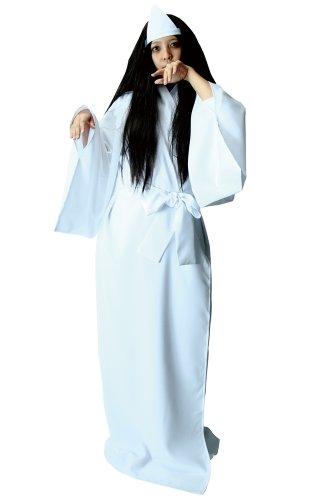 本格 日本の幽霊 コスチューム 男女共用 180cm