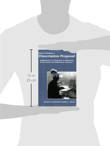 preparation of a dissertation proposal An oral defense: preparation and presentation by william g wargo, phd / april 23, 2014  an oral defense can be required to defend the proposal and/or the complete dissertation congratulations on getting to either stage of the dissertation process.