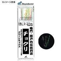 ハヤブサ(Hayabusa) サビキ チョクリ グリーンミックス 10本鈎 SD825 10-4-6
