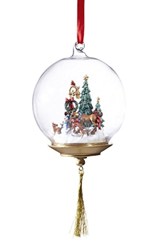 Breyer最初HolidayガラスGlobe Ornament