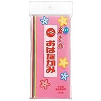 (まとめ) 合鹿製紙 おはながみ五色鶴 5色詰め合せ #200 1パック(100枚) 【×30セット】 〈簡易梱包
