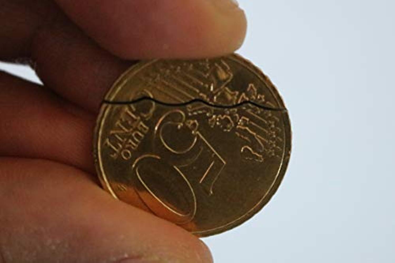 かまと復元コイン50cはデビッドブレインマジックを( 50セントユーロ硬貨はアウトかみ傷) - Bitten and Restored Coin 50c (50 cent Euro Coin Bite Out) David Blaine Magic