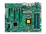 Supermicro x9sae-v-o x9sae-v–マザーボード–ATX–lga1155ソケット–c216–USB 3.0–2xギガビットLAN–オンボードグラフィックス( CPU必要な)–HDオーディオ( 8チャネル)