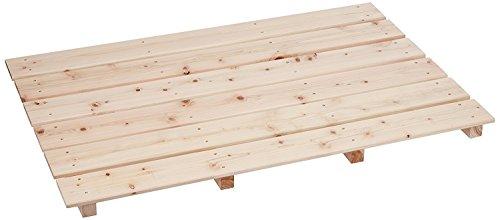 RoomClip商品情報 - 池川木材 すのこ 桧 大 6枚4本足 85×56×3.7cm