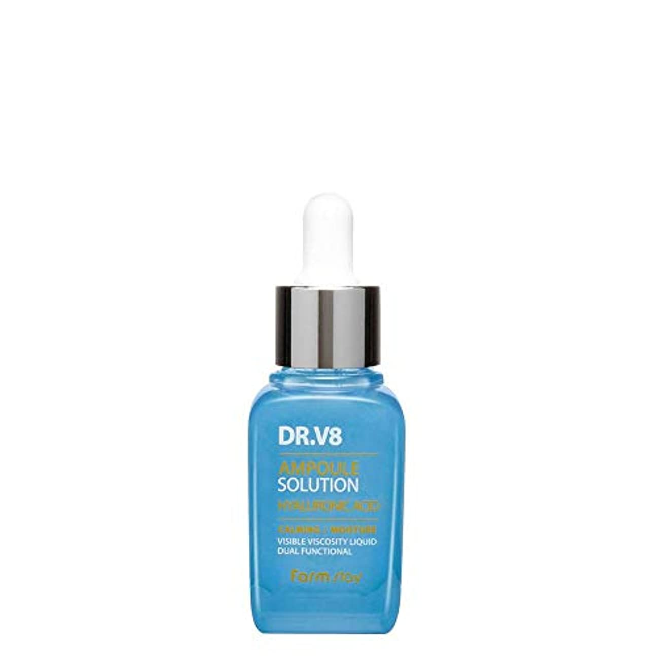 ピン私たちファームステイ[Farm Stay] Dr. V8 アンプルソリューション (ヒアルロン酸) 30ml / V8 Ampoule Solution Hyaluronic Acid