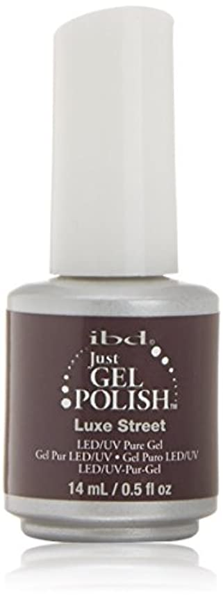 世紀命令的打たれたトラックibd Just Gel Nail Polish - Luxe Street - 14ml / 0.5oz