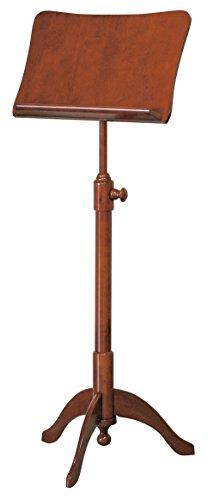 キクタニ 譜面台 木製 高さ調整815~1,145mm FS-G ブラウン
