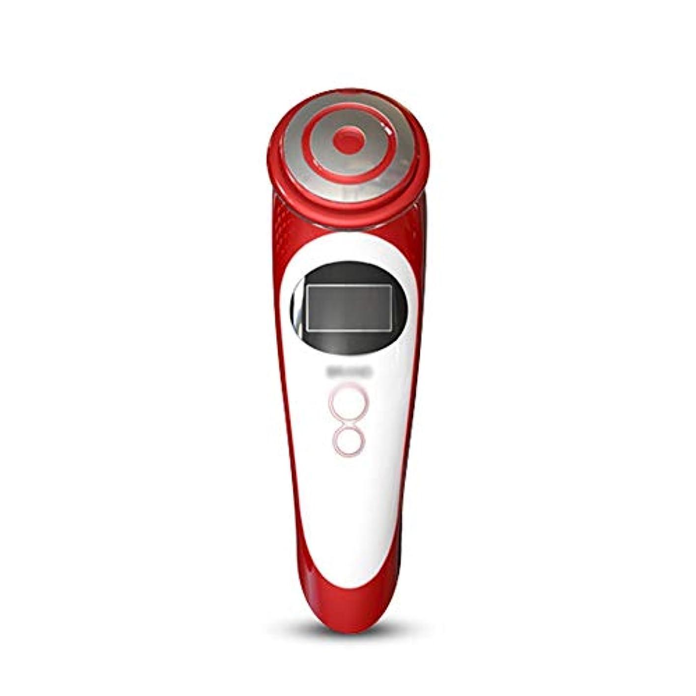 氏前書き熱心ZYL-YL 美顔器 RFボーテ 多機能 LEDカラーライト 美容機器 無線周波数スキン ラジオ波 EMS LED 毛穴 たるみ 目元ケア 小顔