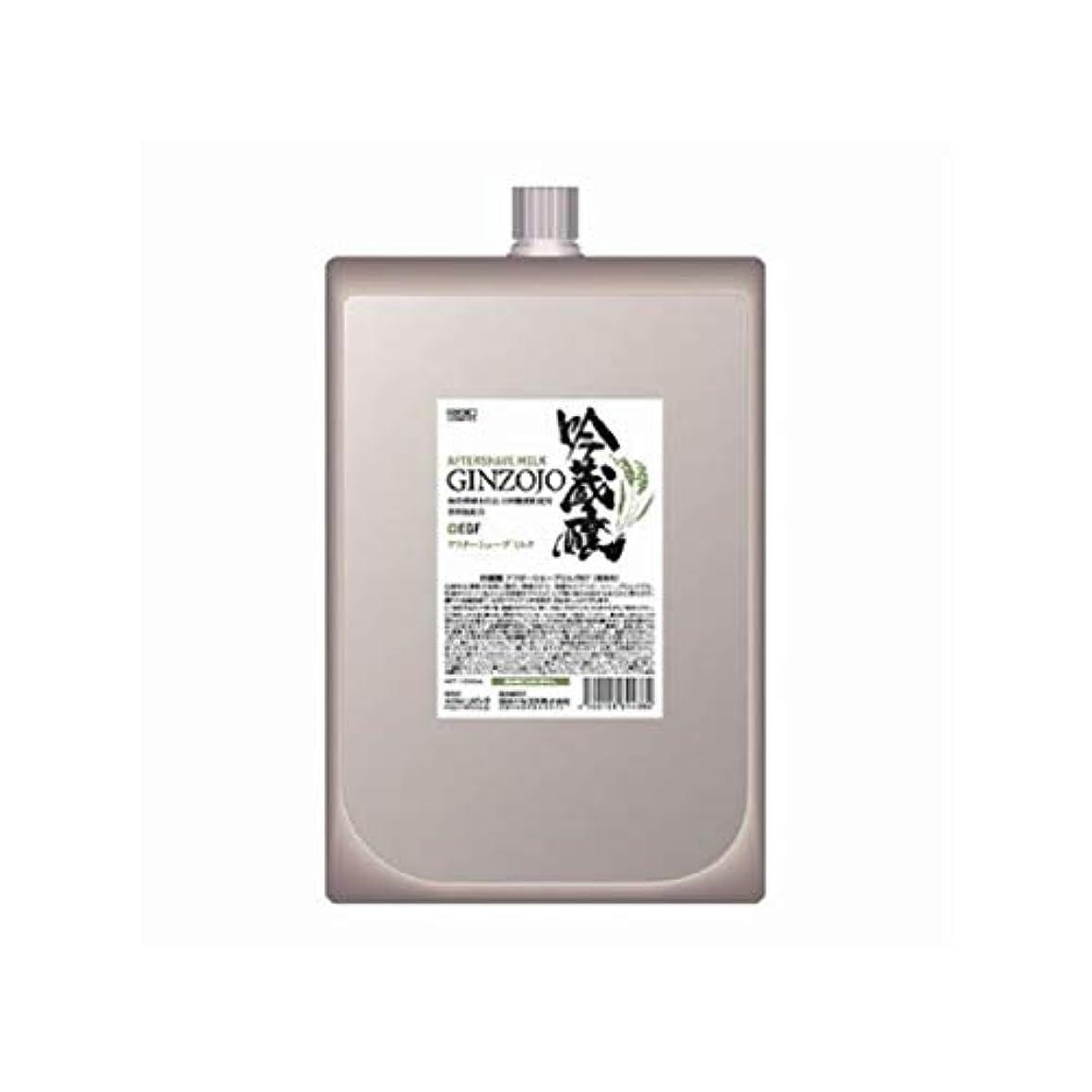 マント強調するバンジョー吟蔵醸 アフターシェーブミルク KF 1000ml