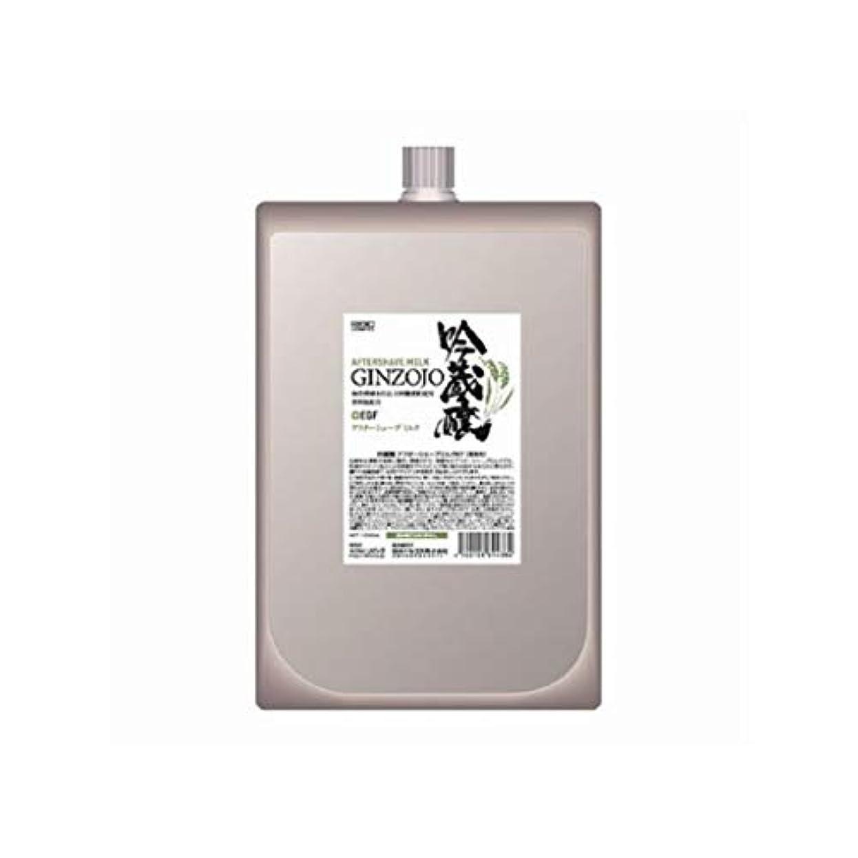 泥野なパット吟蔵醸 アフターシェーブミルク KF 1000ml