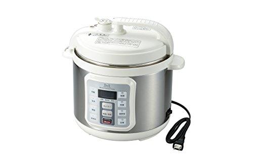D&S 家庭用マイコン電気圧力鍋 4.0L STL-EC01...