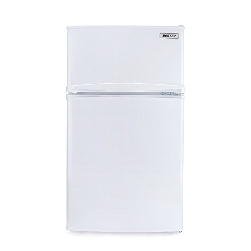BESTEK 冷蔵庫 小型 冷凍冷蔵庫 直冷式 2ドア 85L 右開き BTMF211