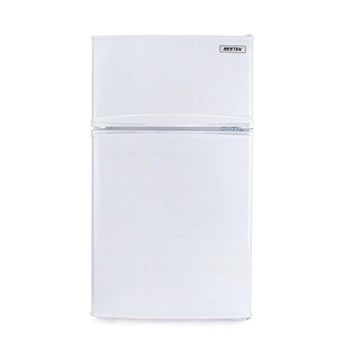BESTEK 冷蔵庫 小型 冷凍冷蔵庫 直冷式 2ドア 85...