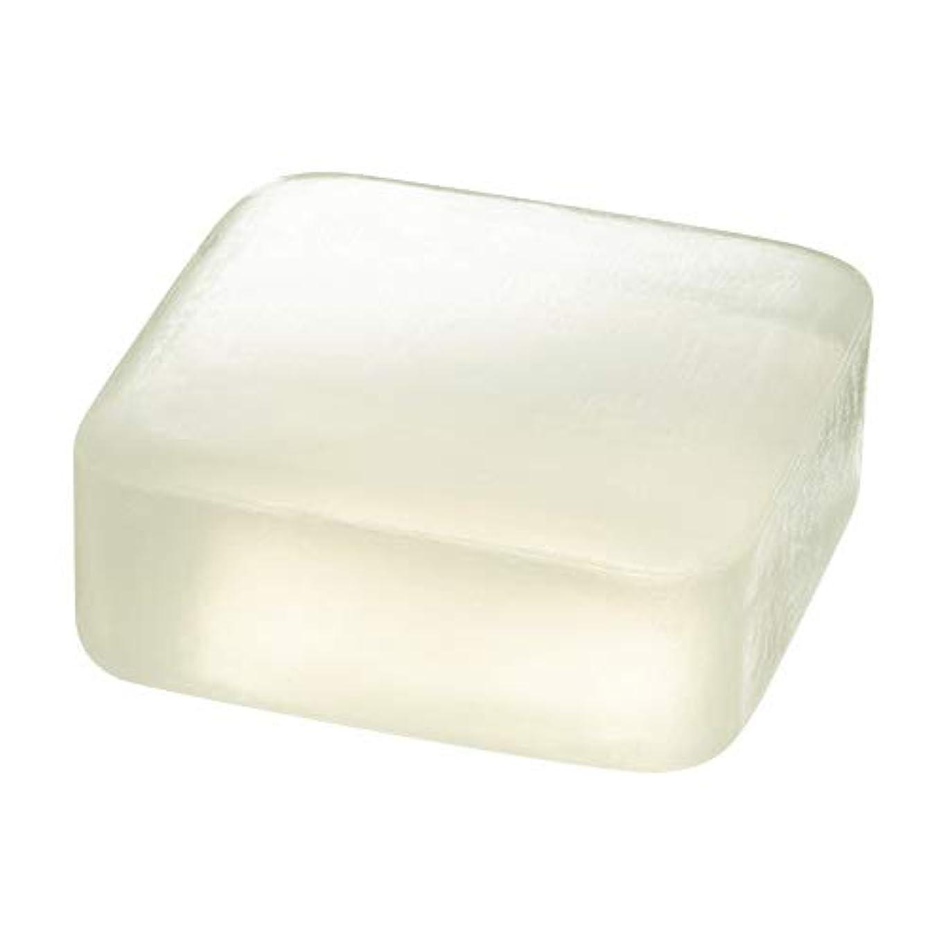 試してみるダニ電気のETVOS(エトヴォス) 洗顔せっけん クリアソープバー 80g 透明枠練り石鹸 セラミド 濃密泡 毛穴汚れ/黒ずみ