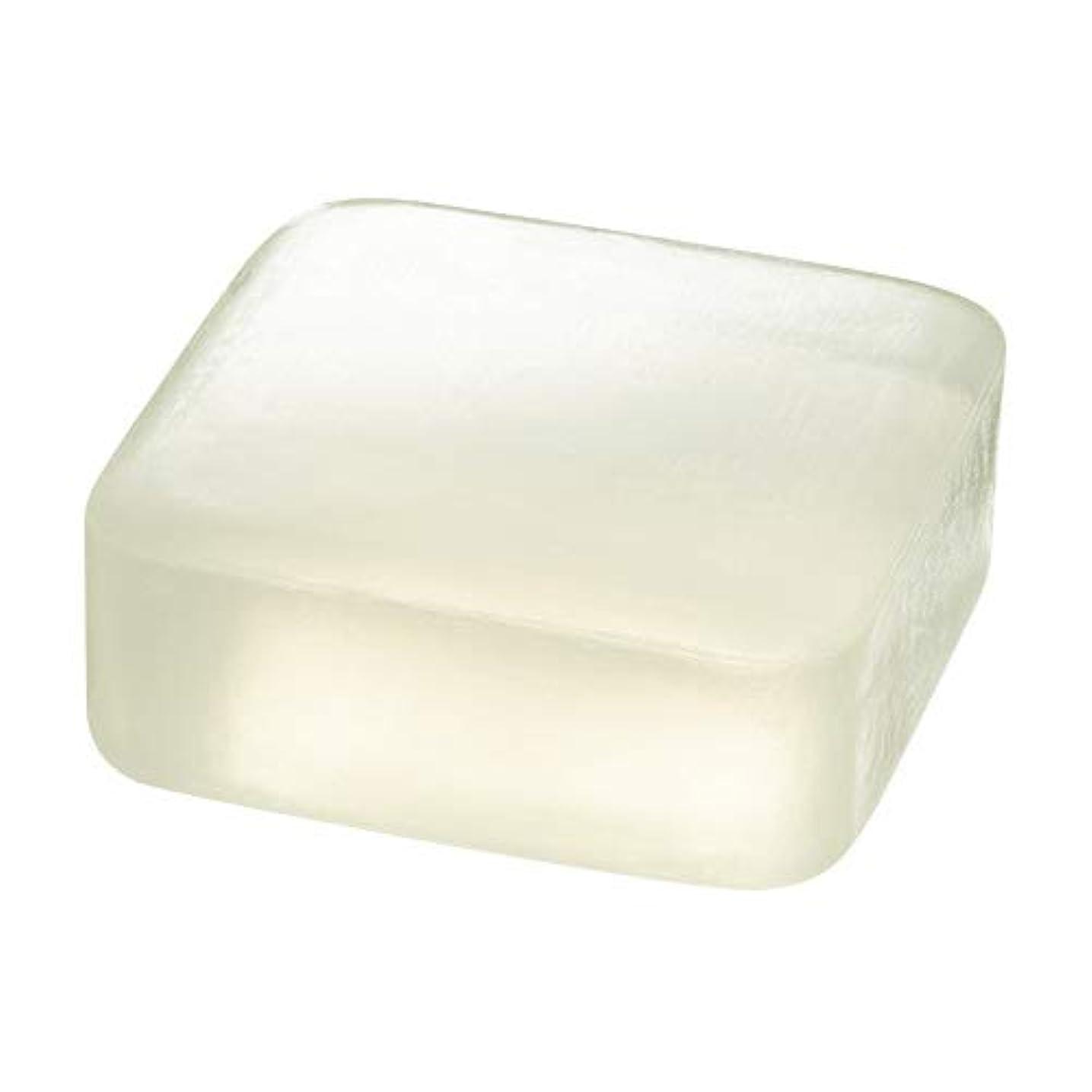 素人テレックスすりETVOS(エトヴォス) 洗顔せっけん クリアソープバー 80g 透明枠練り石鹸 セラミド 濃密泡 毛穴汚れ/黒ずみ
