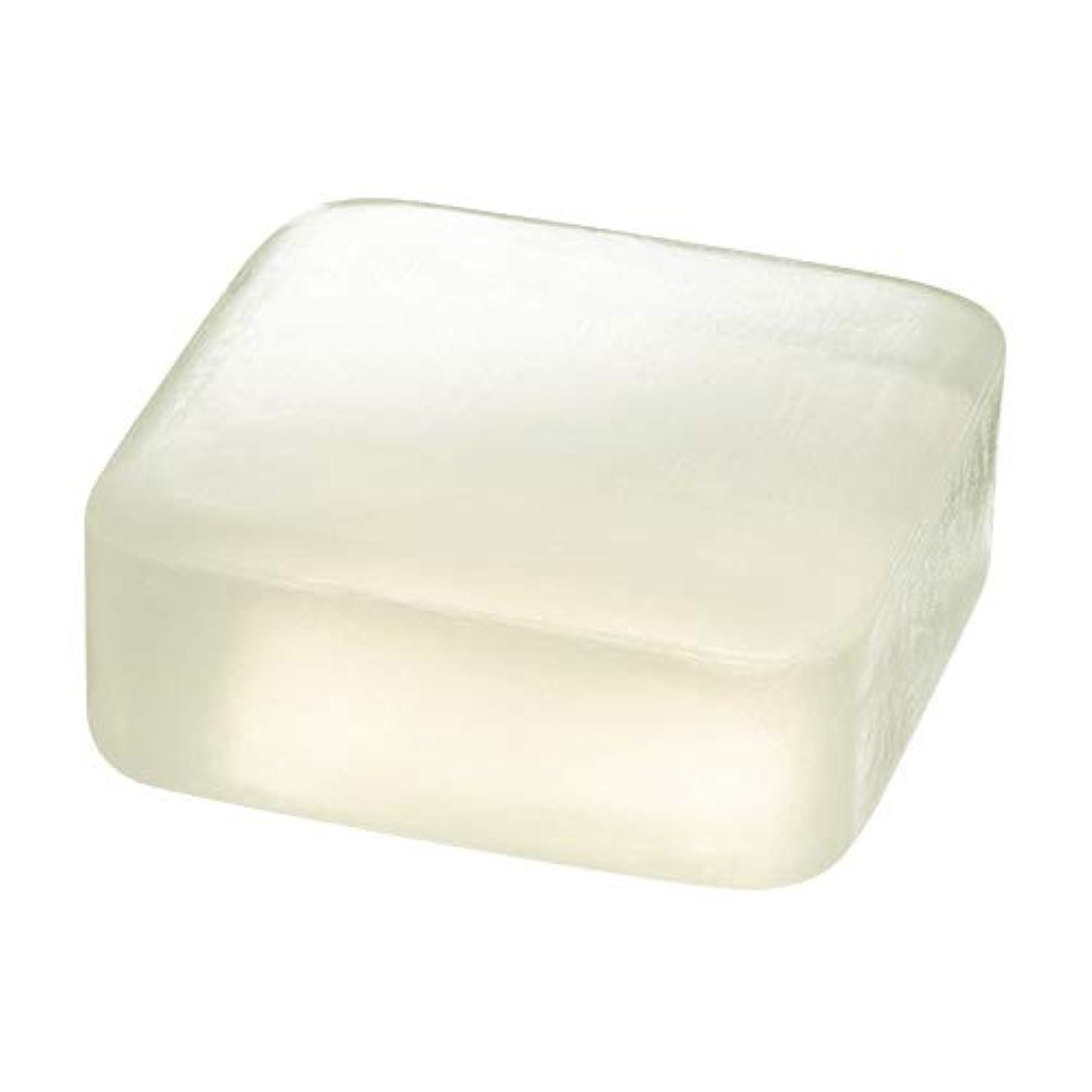 の前でアナロジー継続中ETVOS(エトヴォス) 洗顔せっけん クリアソープバー 80g 透明枠練り石鹸 セラミド 濃密泡 毛穴汚れ/黒ずみ