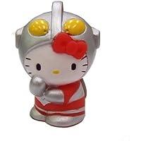キャラクター人形すくい なりきりキティウルトラマン(H40mm) 10個入り  / お楽しみグッズ(紙風船)付きセット