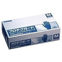 (業務用10セット) 日本製紙クレシア プロテクガード ニトリルグローブ青L100枚