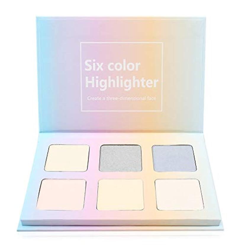 ディスカウント露出度の高い実験的6色/ SETハイライト防水アイ?蛍光ペンパレットのアイシャドウ化粧品メイクアップアイシャドウパレットメイクアップ