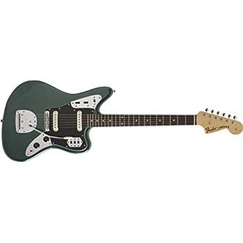 Fender エレキギター MIJ Hybrid 60s Jaguar, Sherwood Green Metallic