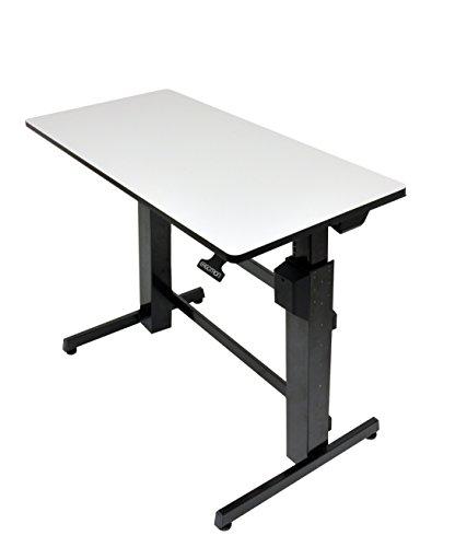 エルゴトロン WorkFit-D 座位・立位両用 昇降デスク ライトグレイ 24-271-926