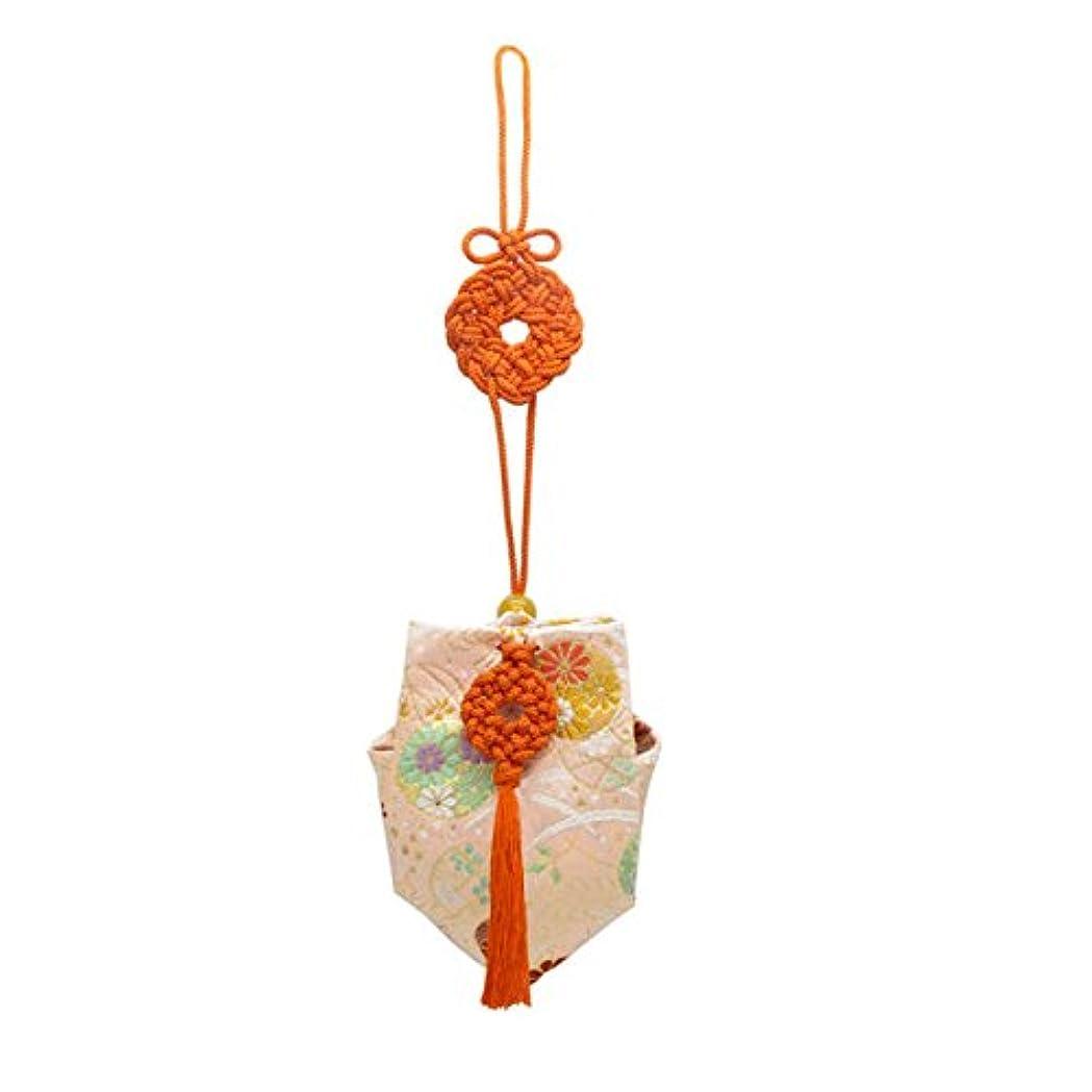 幽霊入浴ビルマ訶梨勒 上品 紙箱入 朱紐/花丸紋