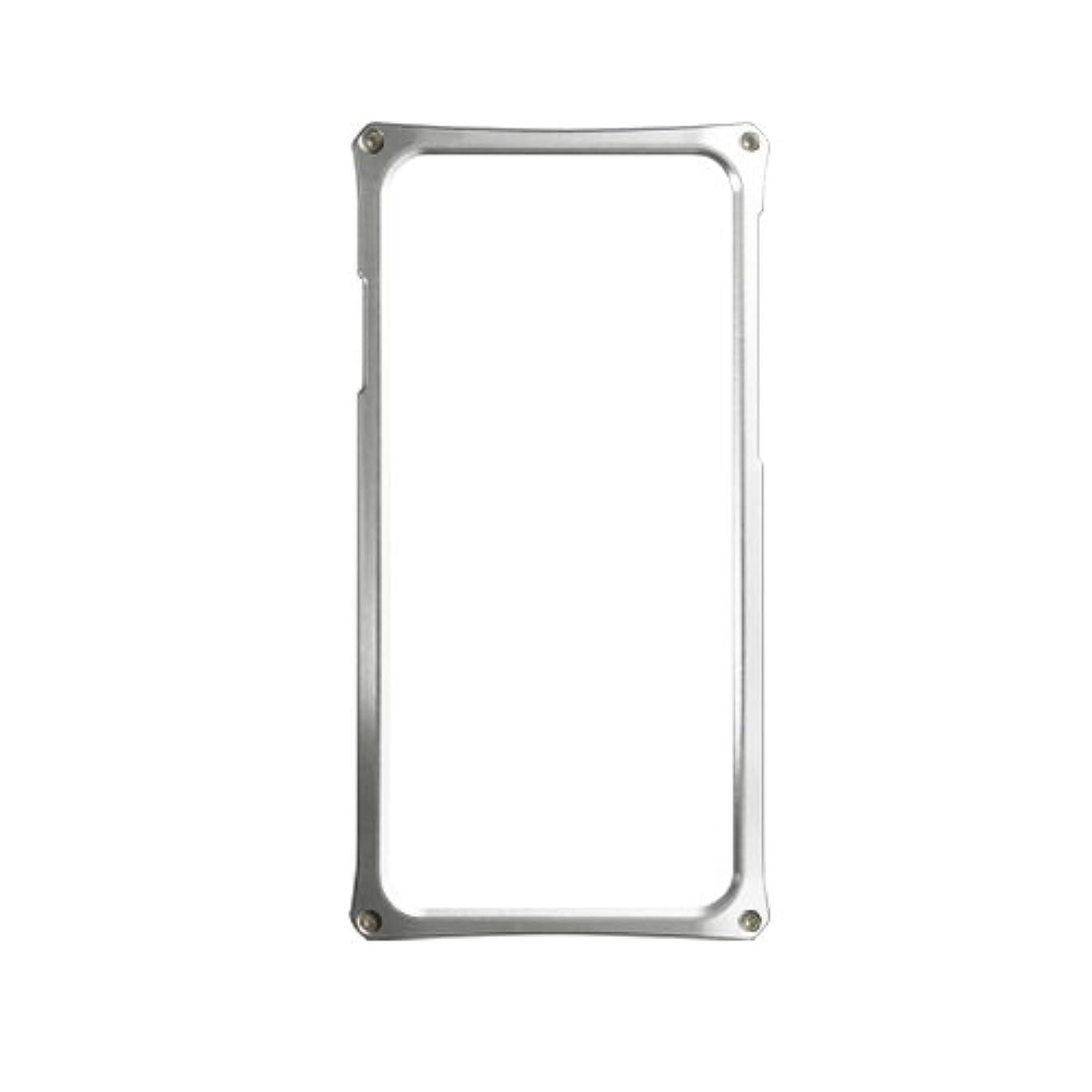 ペレグリネーション講堂終点Abee アビー Apple iPhone 6 Plus 専用アルミジャケット 化研アルマイト 日本製 AJ-6PX01-SK シルバー