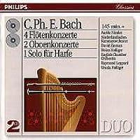 4 Flute Concertos; 2 Oboe Concertos; 1 Solo Harp